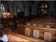 TQ0044 : Inside Holy Trinity, Bramley (XIV) by Basher Eyre
