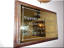 TQ0044 : Holy Trinity, Bramley: memorial (ii) by Basher Eyre
