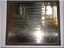 TQ0044 : Holy Trinity, Bramley: memorial (iii) by Basher Eyre