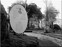 NS2676 : Highland Mary's Grave by Raibeart MacAoidh