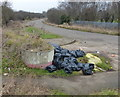 SK5708 : Fly tipping along Thurcaston Road by Mat Fascione