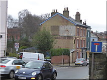 SX9192 : Ghost sign, St David's Hill, Exeter by David Smith