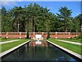 TQ0159 : Woking - Peace Memorial Garden by Colin Smith
