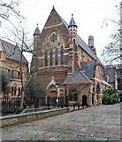 TQ3382 : Former Church of St Michael, Mark Street, Shoreditch by Julian Osley