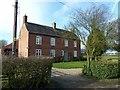 SK7714 : Village Farmhouse, Little Dalby by Alan Murray-Rust