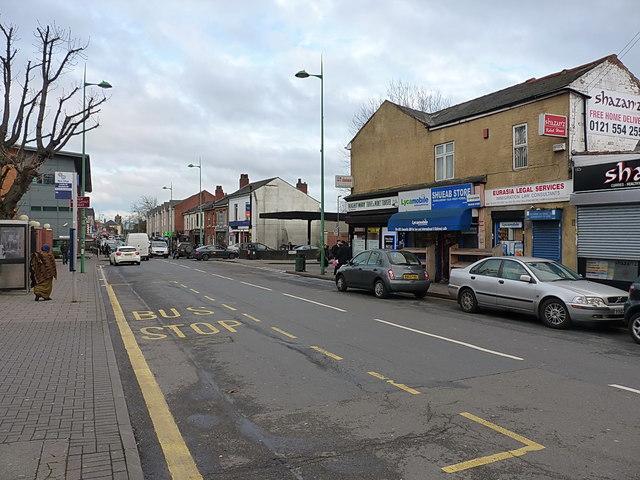 Lozells Road, Lozells
