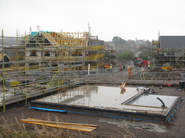 House building at Loanhead