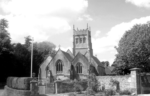 St Mary's Church, Grittleton, Wiltshire 2013