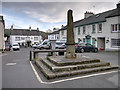 SD3778 : Cartmel Market Cross, The Square by David Dixon