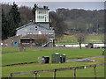 SD3778 : Cartmel Racecourse by David Dixon