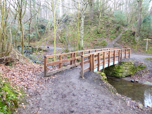 Footbridge over Percy Beck