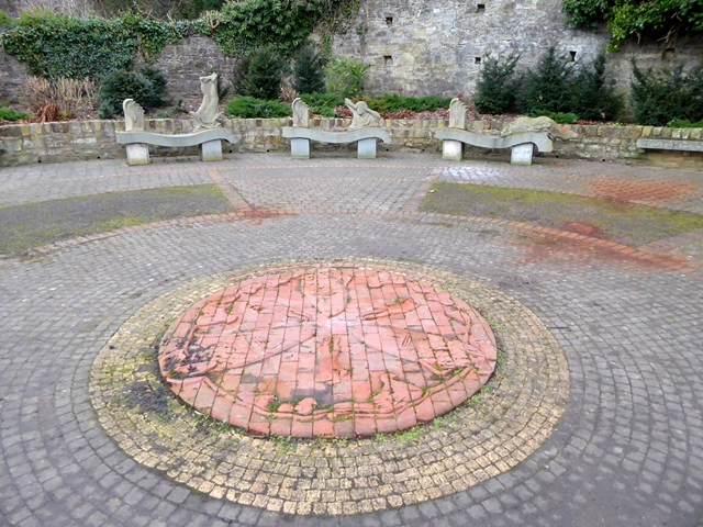 Public art at the Roman Way Picnic Site