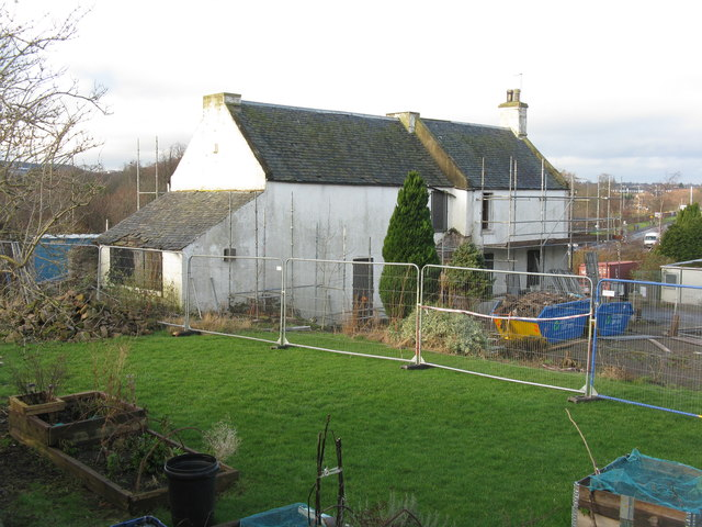 Bridgend Farmhouse from the east