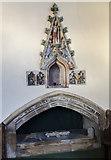 SK7645 : Easter Sepulchre, St Peter's church, Sibthorpe by Julian P Guffogg