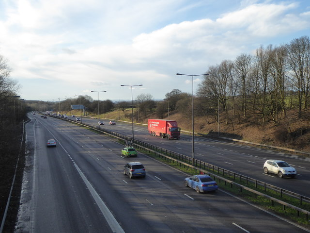 M6 west of Keele Services