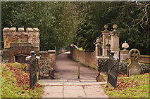 TQ2550 : Church Walk by Ian Capper