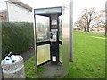 SP8103 : KX300 Telephone Kiosk in Princes Risborough (2) by David Hillas