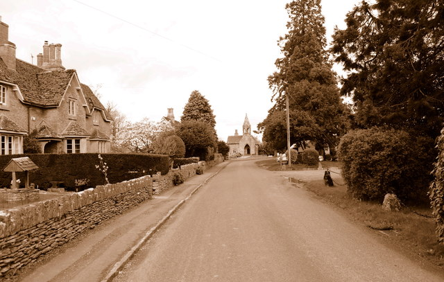 The Street, Sevington, Wiltshire 2014