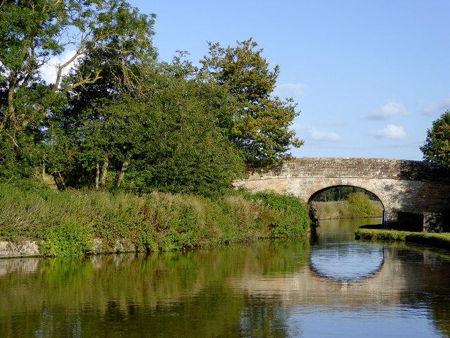 Park Heath Bridge south of Soudley in Shropshire