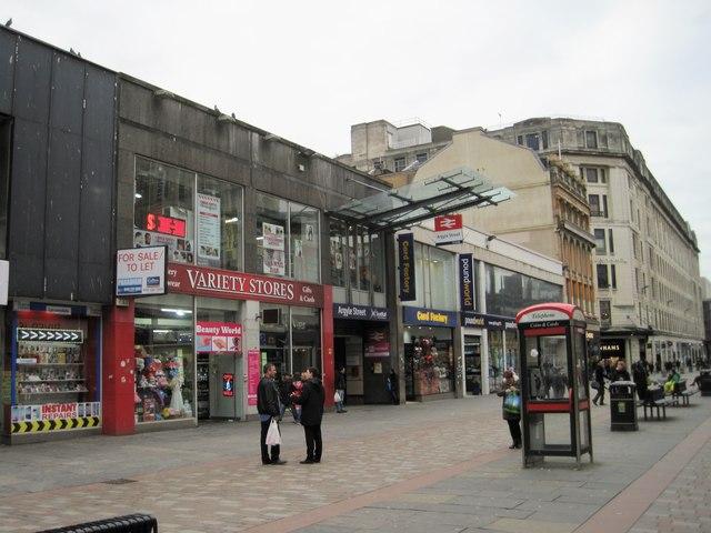 Argyle Street railway station, Glasgow