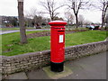 SJ0683 : King George VI pillarbox, Marine Road, Prestatyn by Jaggery