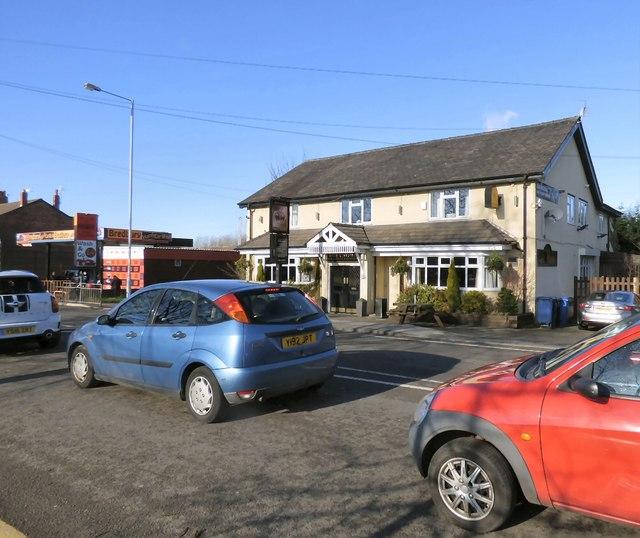 Crown Inn and Bredbury Hand Car Wash