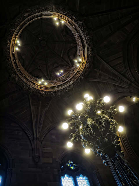 Lighting - John Rylands Library