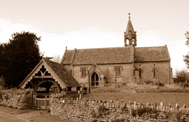Church of St Margaret, Leigh Delamere, Wiltshire 2014