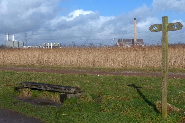 Wales Coast Path, Newport Wetlands