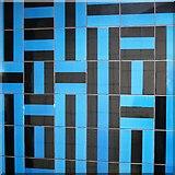TQ2879 : Victoria tube station, Victoria Line - ceramic tiles by Mike Quinn