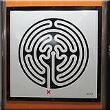 TQ2879 : Victoria tube station - Labyrinth 103 by Mike Quinn