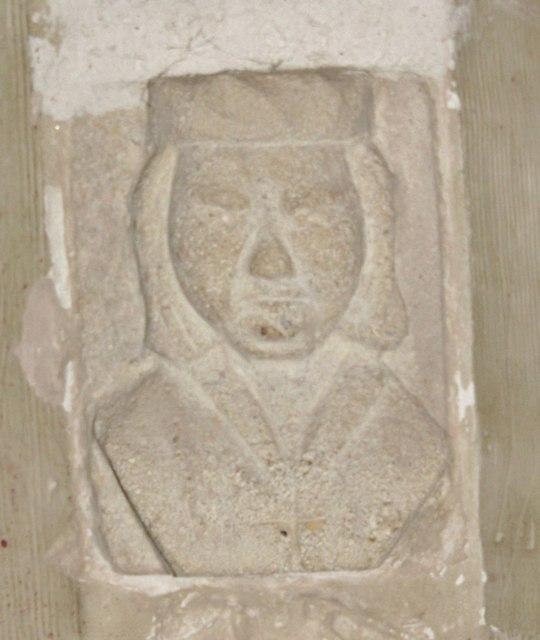Wotton Church - Stone Head