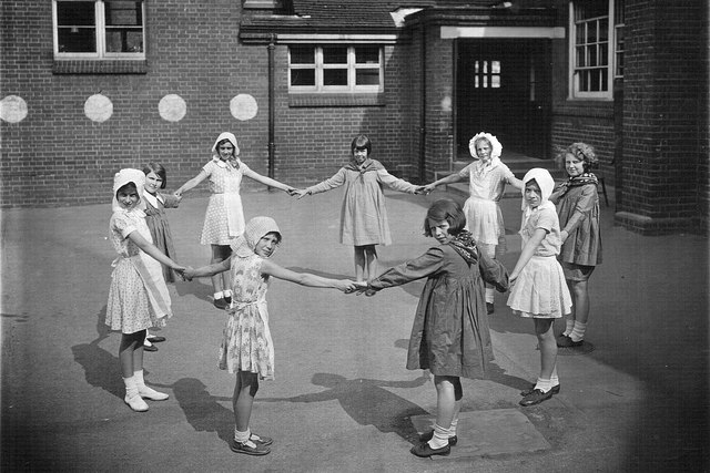 Oxhey School, Empire Day, 1933