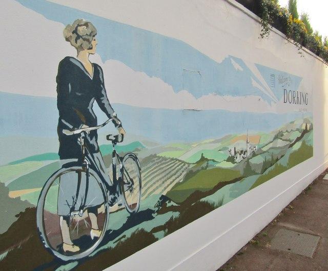 Dorking - Mural