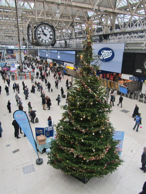Waterloo Station - Christmas Tree