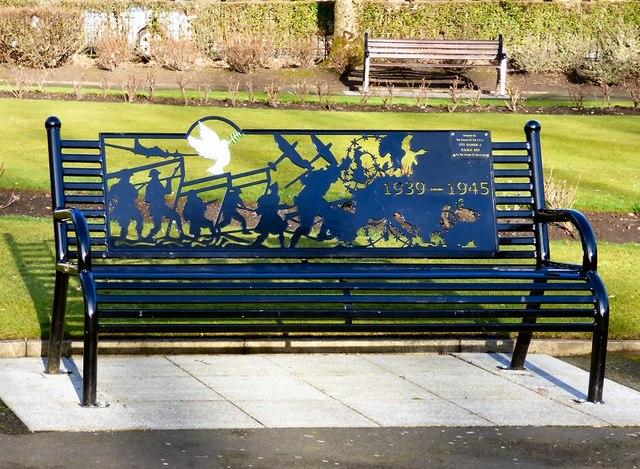 War Memorial Bench (1 of 4)