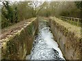 SK8336 : Lock 13 (Stenwith bottom lock), Grantham Canal by Alan Murray-Rust
