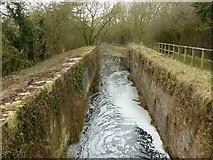 SK8336 : Lock 13 (Stenwith bottom lock), Grantham Canal by Alan Murray-Rust