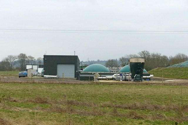 Grange Farm biomass generating plant