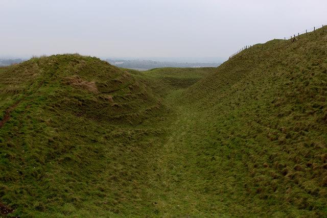 Maiden Castle Ramparts