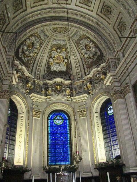 St Mary le Strand - Interior