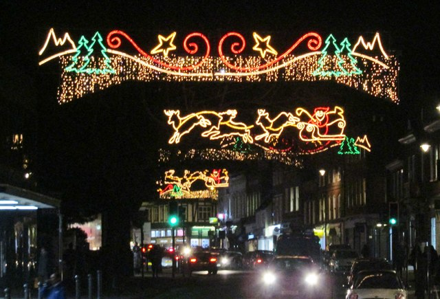 Guildford - Christmas Lights