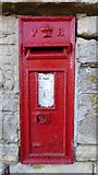 SO9832 : Victorian letterbox by Philip Halling