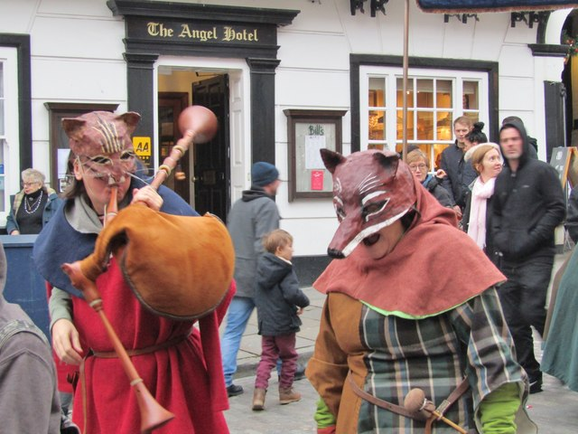 Guildford - Royal Procession