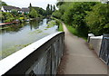 TQ0490 : Grand Union Canal towpath at Mount Pleasant by Mat Fascione