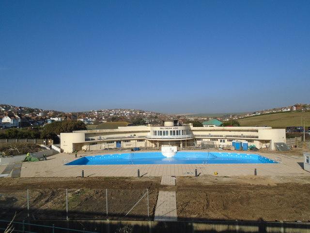 Saltdean Lido - 3 months till reopening