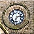SD8110 : St Thomas's clock by Gerald England