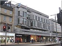 NT2573 : The New Club, Princes Street by M J Richardson