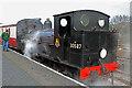 SX8061 : One of steam's elder statesmen - Totnes Riverside Station by Chris Allen