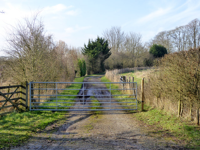 Gated track to Paper Mill